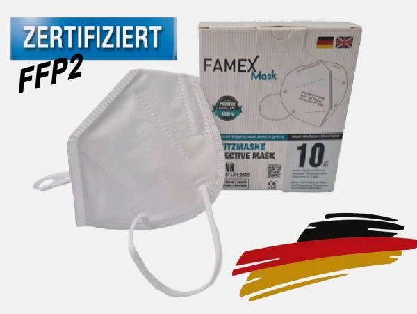 Mundschutz FFP2 Schutzmaske (10 Stück pro Paket)